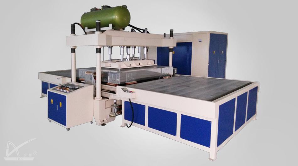 Máquina de soldadura HF para alfombras de 35KW